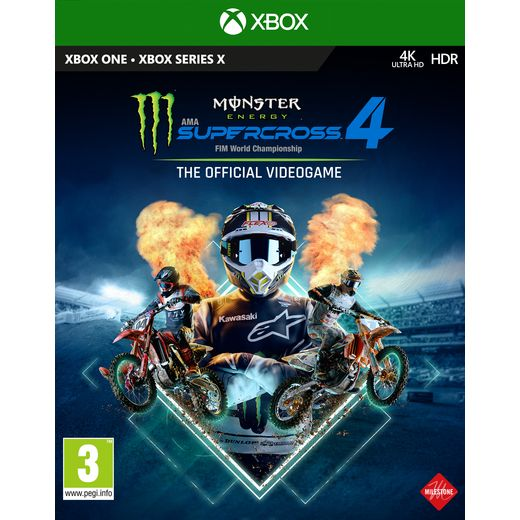 Monster Energy Supercross 4 for Xbox One