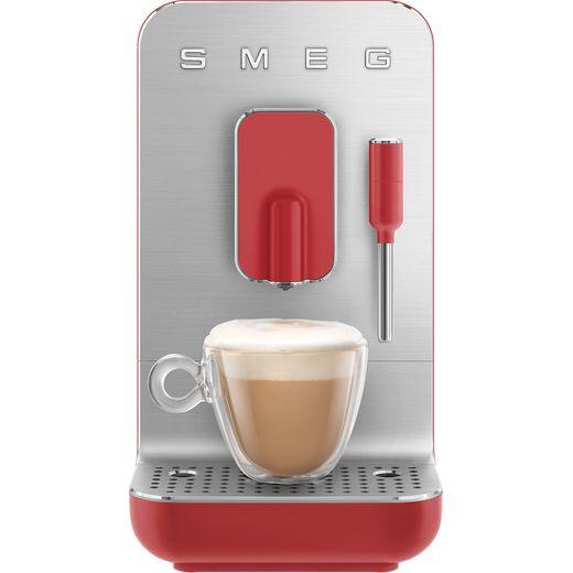 Smeg 50's Retro BCC02RDMUK Espresso Coffee Machine - Red