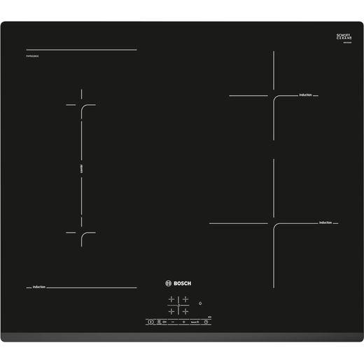 Bosch Serie 4 PWP631BB1E 59cm Induction Hob - Black