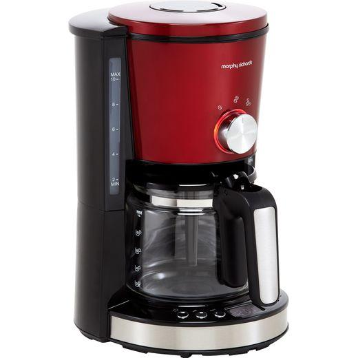 Morphy Richards Evoke 162522 Filter Coffee Machine - Red