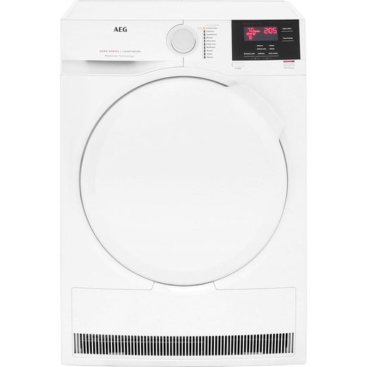 AEG ProSense Technology T6DBG720N 7Kg Condenser Tumble Dryer - White