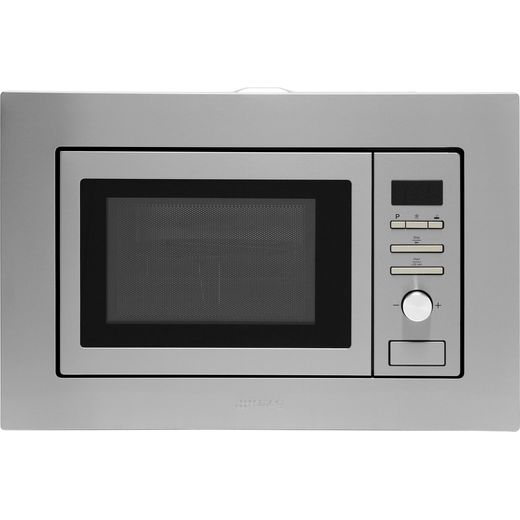 Smeg FMI020X Built In Microwave With Grill - Stainless Steel
