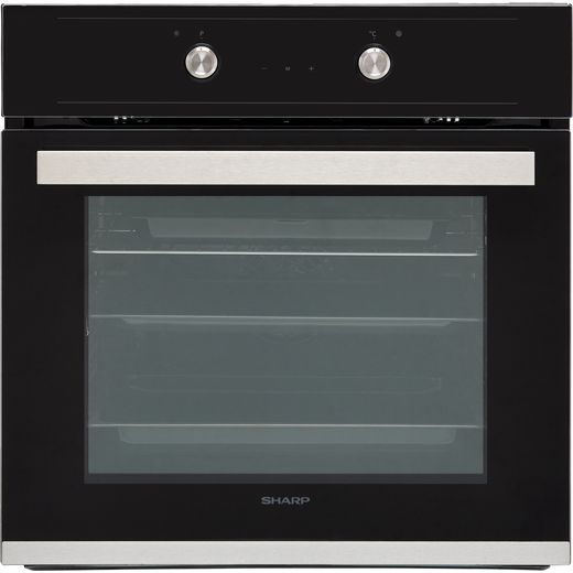 Sharp K-60D19BM1-EU Built In Electric Single Oven - Black - A Rated