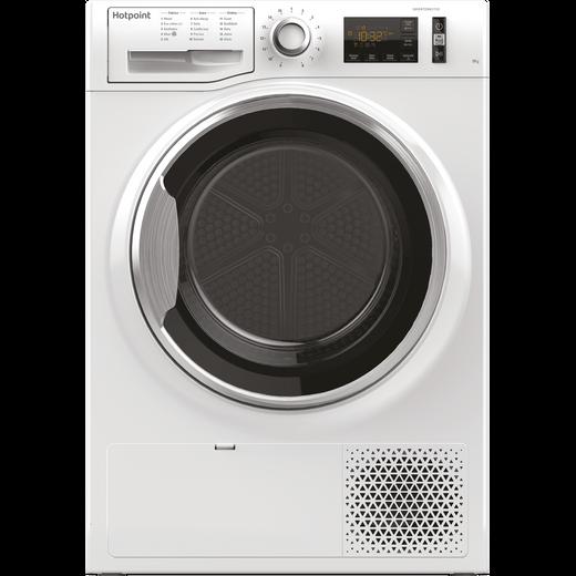 Hotpoint ActiveCare NTM1182XBUK Heat Pump Tumble Dryer - White