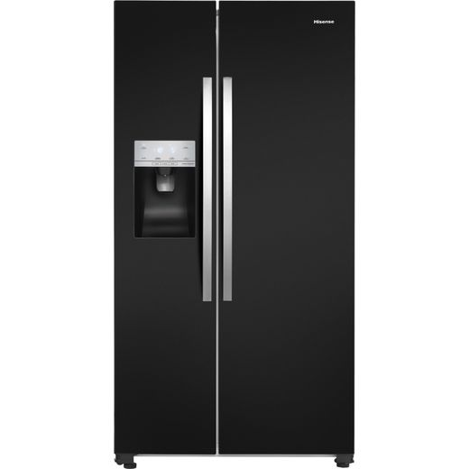 Hisense RS694N4IBF American Fridge Freezer - Black - F Rated