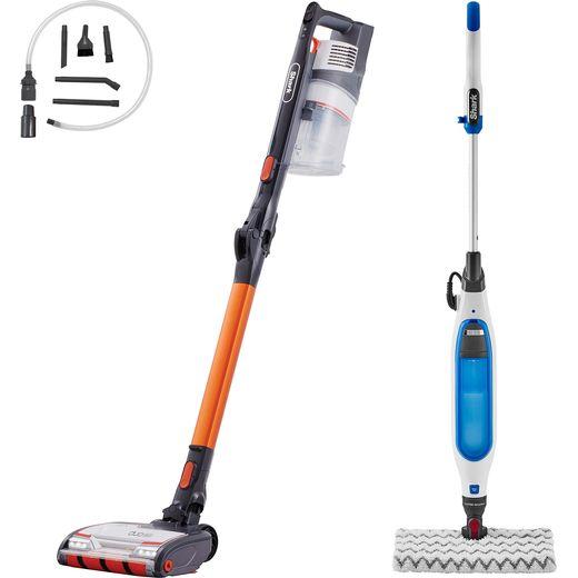 Shark IZ201S6001UK Cordless Vacuum, Steam Mop & Car Cleaning Kit Bundle