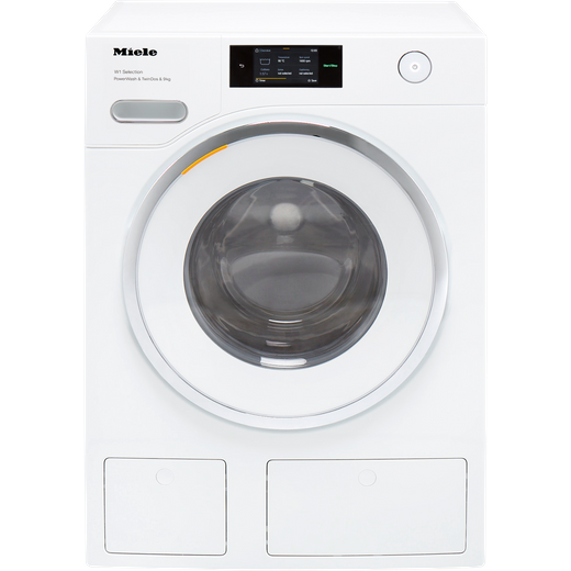 Miele W1 WSR863WPS Wifi Connected 9Kg Washing Machine with 1600 rpm - White - A Rated