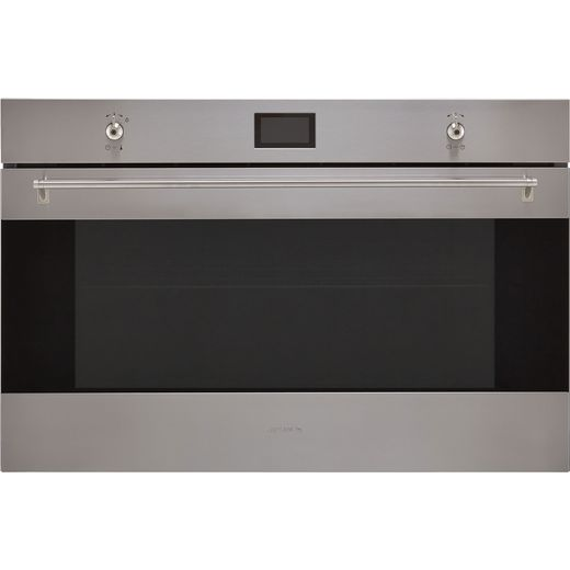Smeg Classic SF9390X1 Built In Electric Single Oven - Stainless Steel - A+ Rated