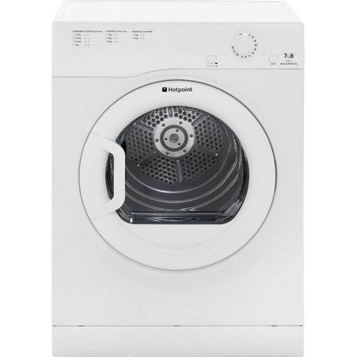 Hotpoint Aquarius TVFM70BGP 7Kg Vented Tumble Dryer - White - B Rated