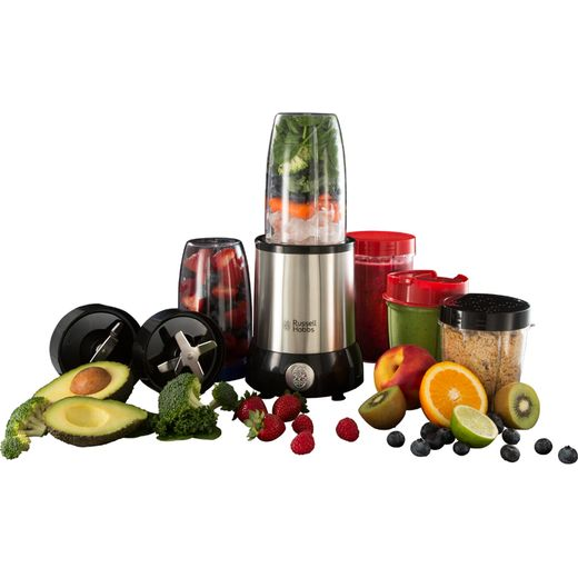 Russell Hobbs 23180 0.7 Litre Blender with 12 Accessories - Stainless Steel