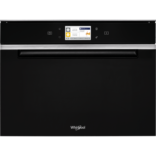 Whirlpool W Collection W11IMW161UK Wifi Connected Built In Combination Microwave Oven - Black