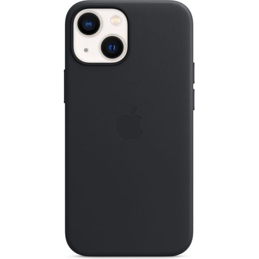 Apple Leather Case with Magsafe for iPhone 13 Mini - Midnight