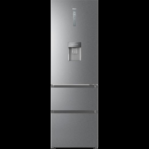 Haier HTR3619FWMP Fridge Freezer - Platinum Inox