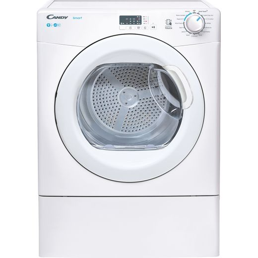 Candy CSEV9LG 9Kg Vented Tumble Dryer - White - C Rated