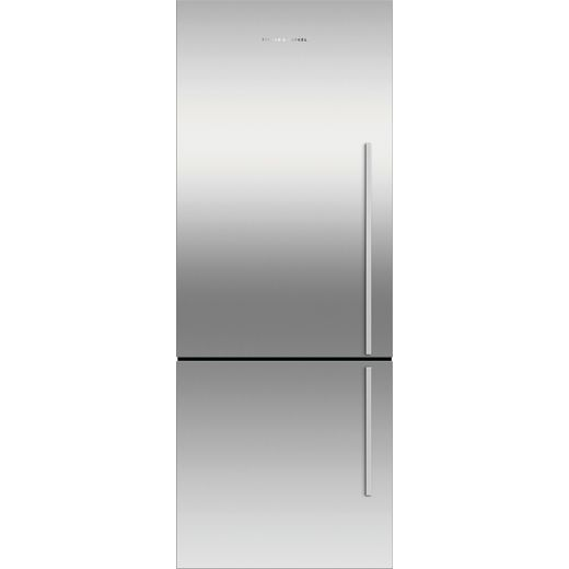 Fisher & Paykel RF402BLXFD5 Frost Free Fridge Freezer - Silver - F Rated