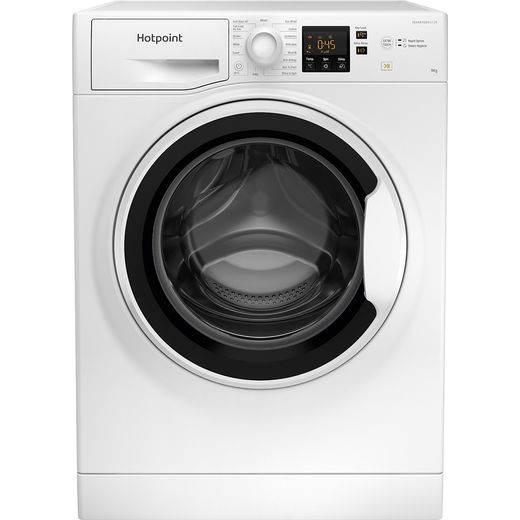Hotpoint NSWA963CWWUKN 9Kg Washing Machine with 1600 rpm - White - D Rated