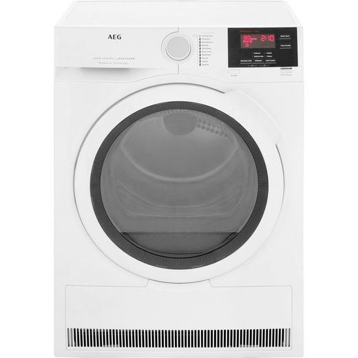 AEG ProSense Technology T6DBG821N 8Kg Condenser Tumble Dryer - White