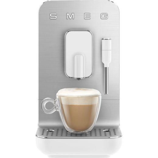 Smeg 50's Retro BCC02WHMUK Espresso Coffee Machine - White