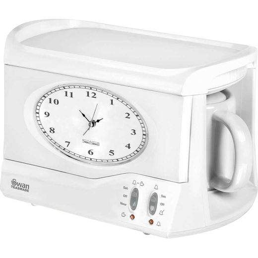 Swan Vintage Teasmade STM201 Tea Maker - White
