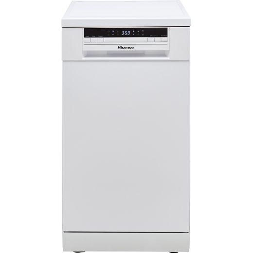 Hisense HS520E40WUK Slimline Dishwasher - White - E Rated