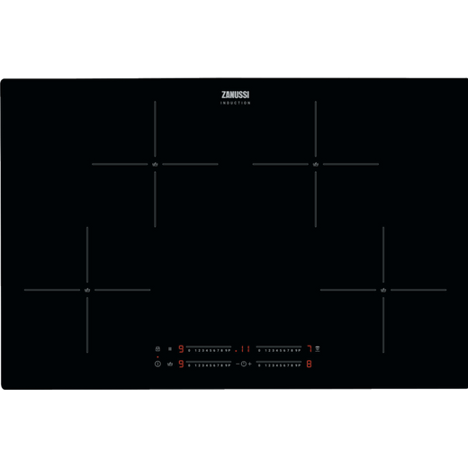 Zanussi ZIAN844K Built In Induction Hob - Black