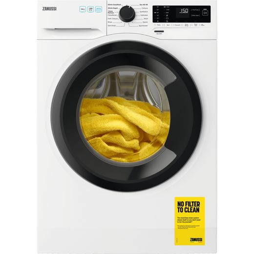 Zanussi ZWF143A2DG 10Kg Washing Machine with 1400 rpm - White - C Rated