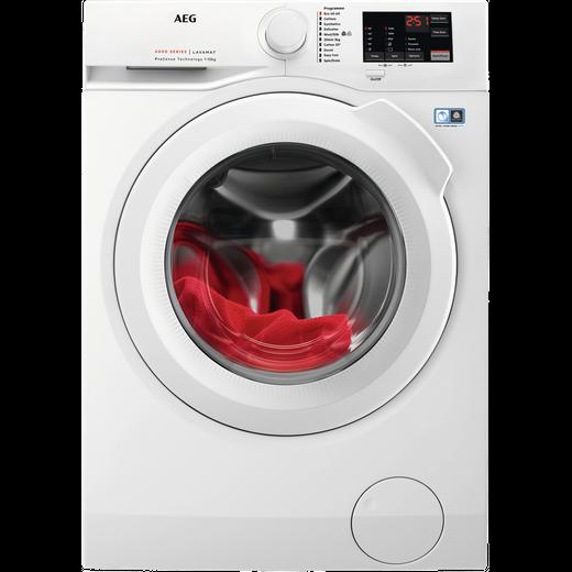 AEG ProSense Technology L6FBJ141P 10Kg Washing Machine with 1400 rpm - White - C Rated