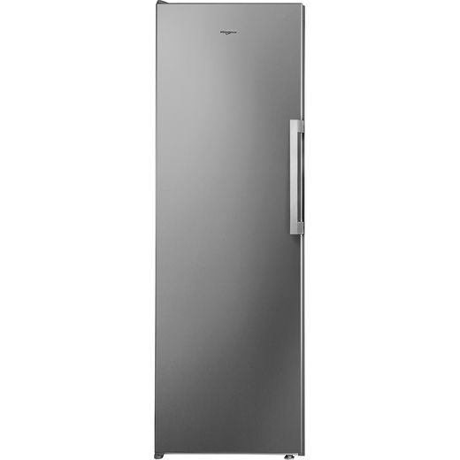 Whirlpool UW8F2CXLSBUK2 Frost Free Upright Freezer - Stainless Steel Effect - E Rated