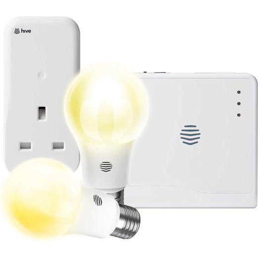 Hive Smart Light E27 & Plug Bundle - Screw - A+ Rated