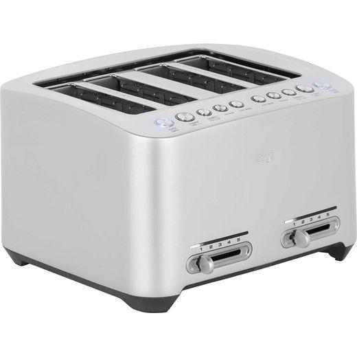 Sage The Smart Toast 4 Slice BTA845UK 4 Slice Toaster - Silver