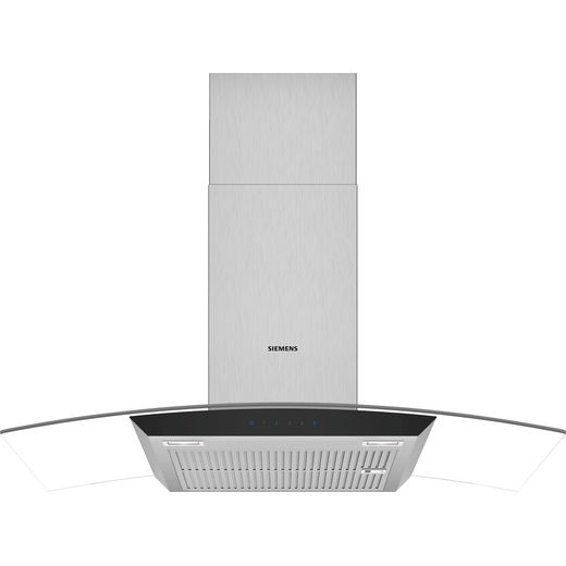 Siemens IQ-300 LC97AFM50B 90 cm Chimney Cooker Hood - Stainless Steel - B Rated