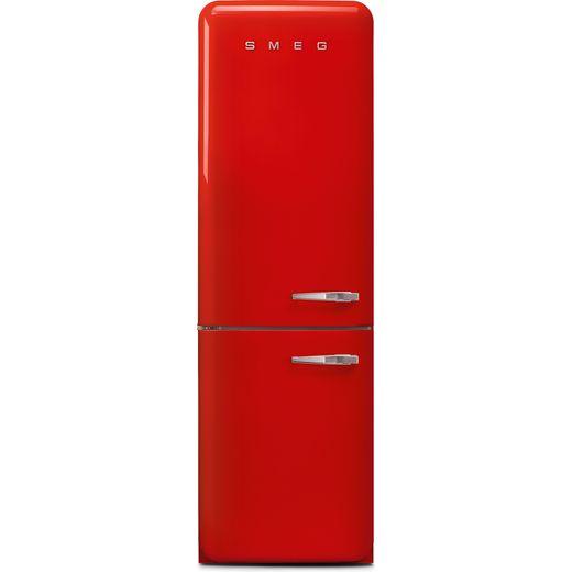 Smeg Left Hand Hinge FAB32LRD5UK 60/40 Frost Free Fridge Freezer - Red - D Rated