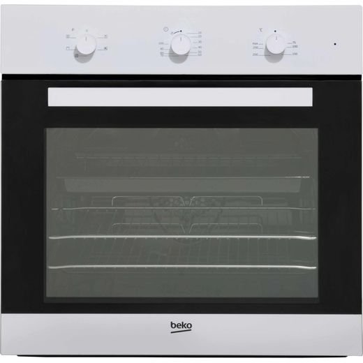 Beko EcoSmart BIF22100W Built In Electric Single Oven - White - A Rated