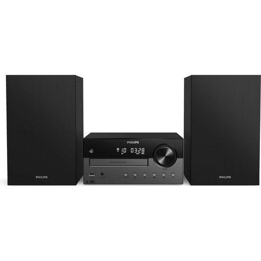 Philips TAM4505/12 60 Watt Hi-Fi System with Bluetooth - Black / Grey