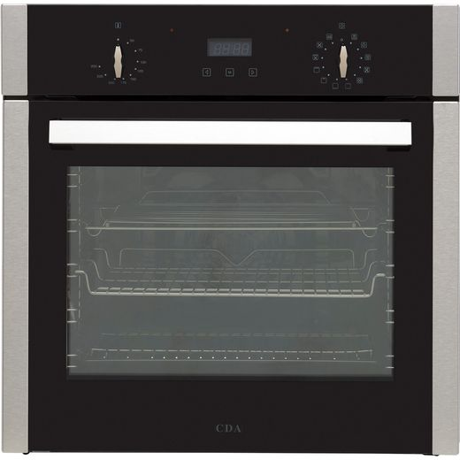 CDA SC300SS Built In Electric Single Oven - Stainless Steel - A Rated