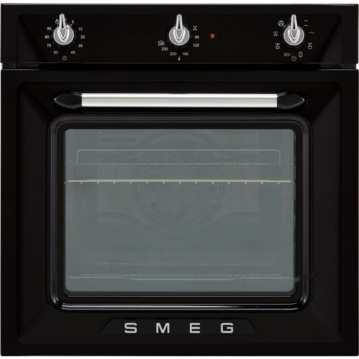 Smeg Victoria SF6905N1 Built In Electric Single Oven - Black - A Rated
