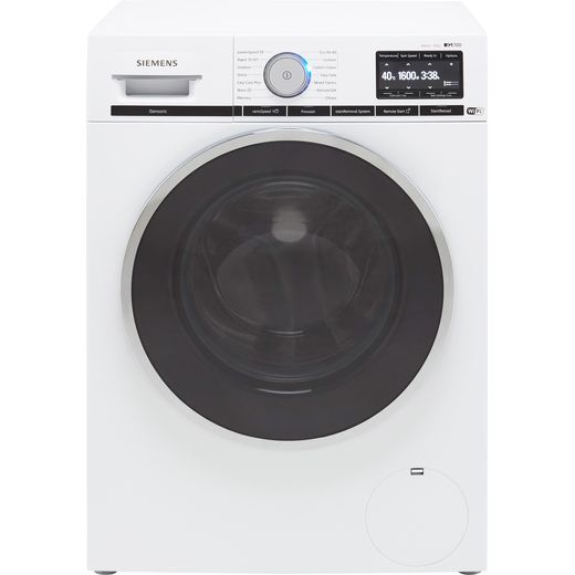 Siemens IQ-700 WM16XGH4GB Wifi Connected 10Kg Washing Machine with 1600 rpm - White - C Rated