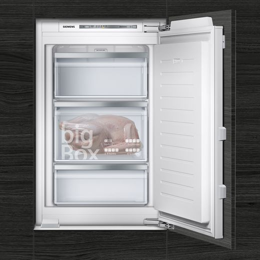 Siemens IQ-500 GI21VAFE0 Integrated Upright Freezer with Fixed Door Fixing Kit - E Rated