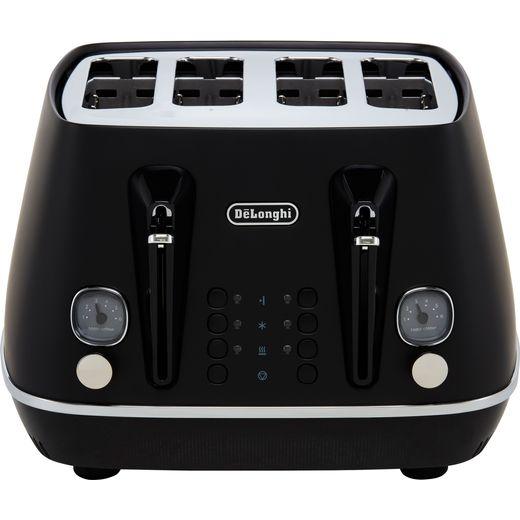 De'Longhi Distinta X CTIN4003.BK 4 Slice Toaster - Black