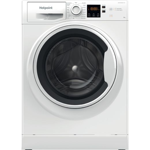 Hotpoint NSWA944CWWUKN 8Kg Washing Machine with 1400 rpm - White - D Rated