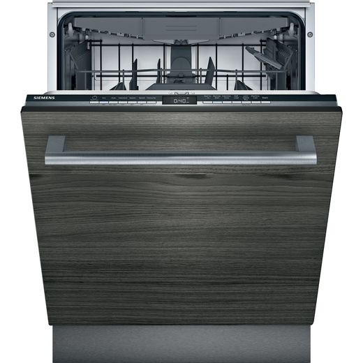Siemens IQ-300 SN63HX52CG Wifi Connected Fully Integrated Standard Dishwasher - Black Control Panel - D Rated