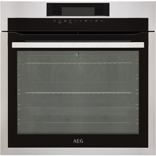 AEG Mastery BPE742320M Built In Electric Single Oven - Stainless Steel - A+ Rated