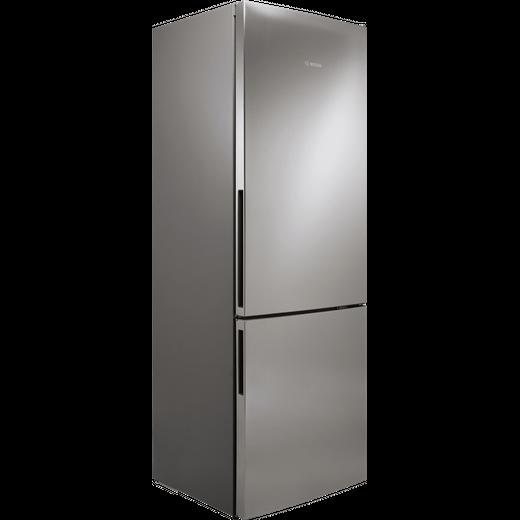 Bosch Serie 6 KGE49AICAG Fridge Freezer - Stainless Steel Effect