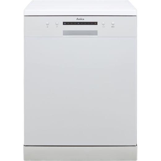 Amica ADF610WH Standard Dishwasher - White - E Rated