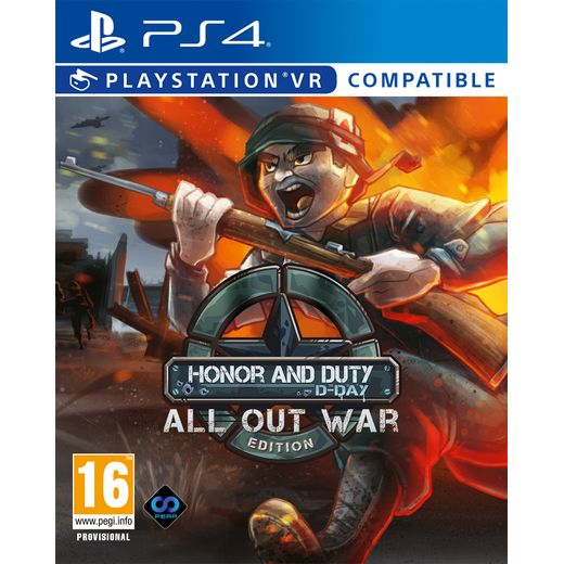 Honor and Duty D-Day All Out War Edition for PlayStation 4