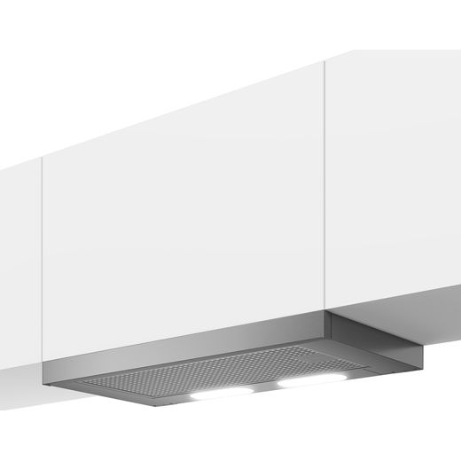 Beko HNT61220XH Telescopic Cooker Hood - Stainless Steel - D Rated