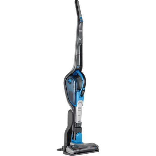Black + Decker 2 in 1 Cordless Vac With smart tech SVJ520BFS-GB Cordless Vacuum Cleaner with up to 20 Minutes Run Time