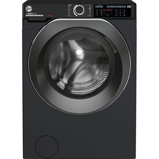Hoover H-WASH 500 HWD610AMBCB/1 Wifi Connected 10Kg Washing Machine with 1600 rpm - Black - A Rated