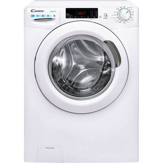Candy Smart Pro CSW4106TE/1 10Kg / 6Kg Washer Dryer with 1400 rpm - White - E Rated