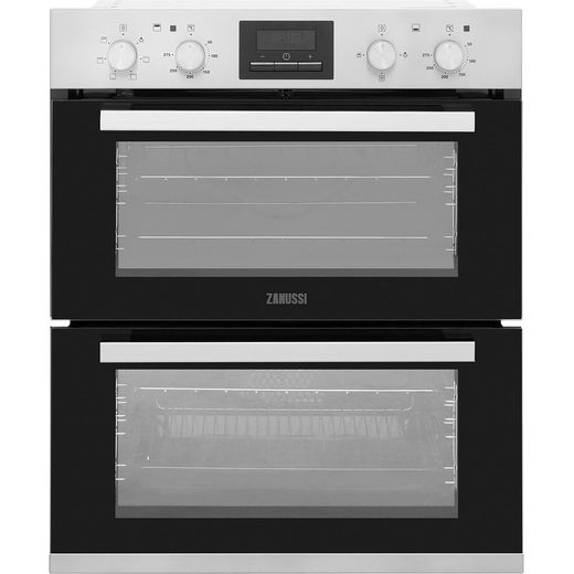 Zanussi ZOF35661XK Built Under Electric Double Oven - Stainless Steel - A/A Rated